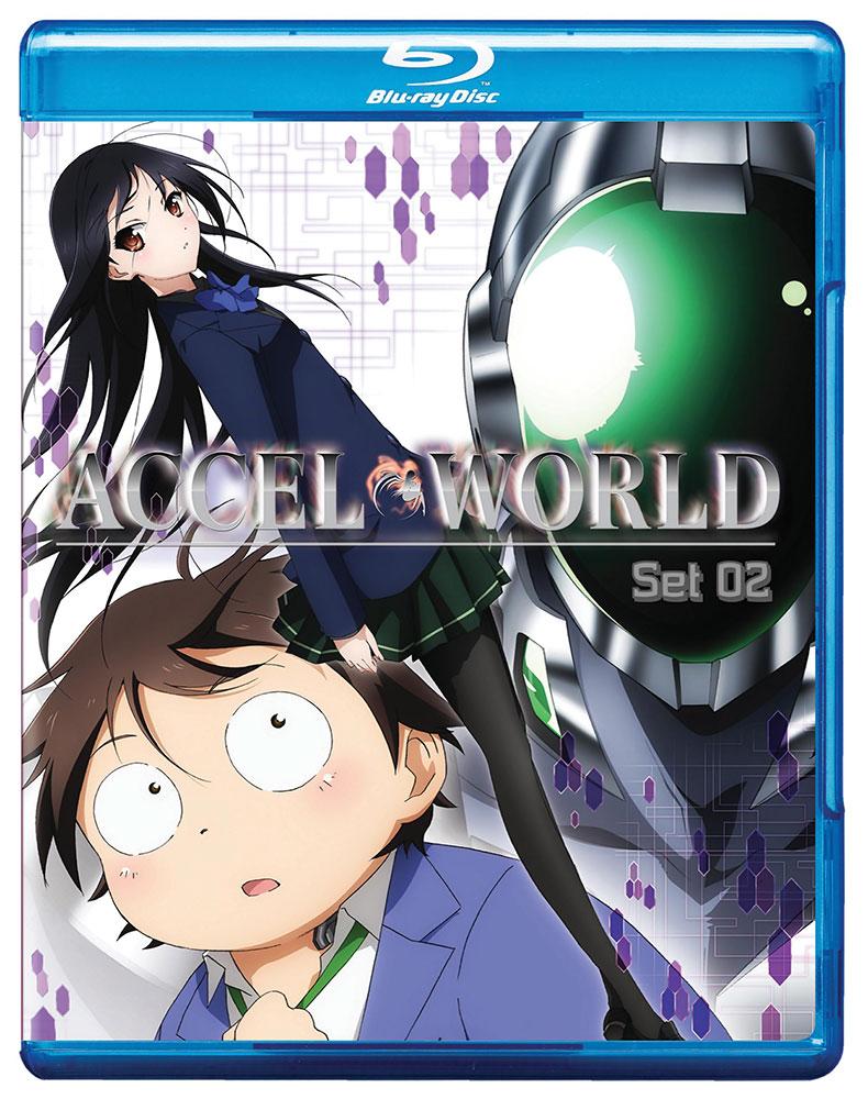 Accel World Set 2 Blu-ray