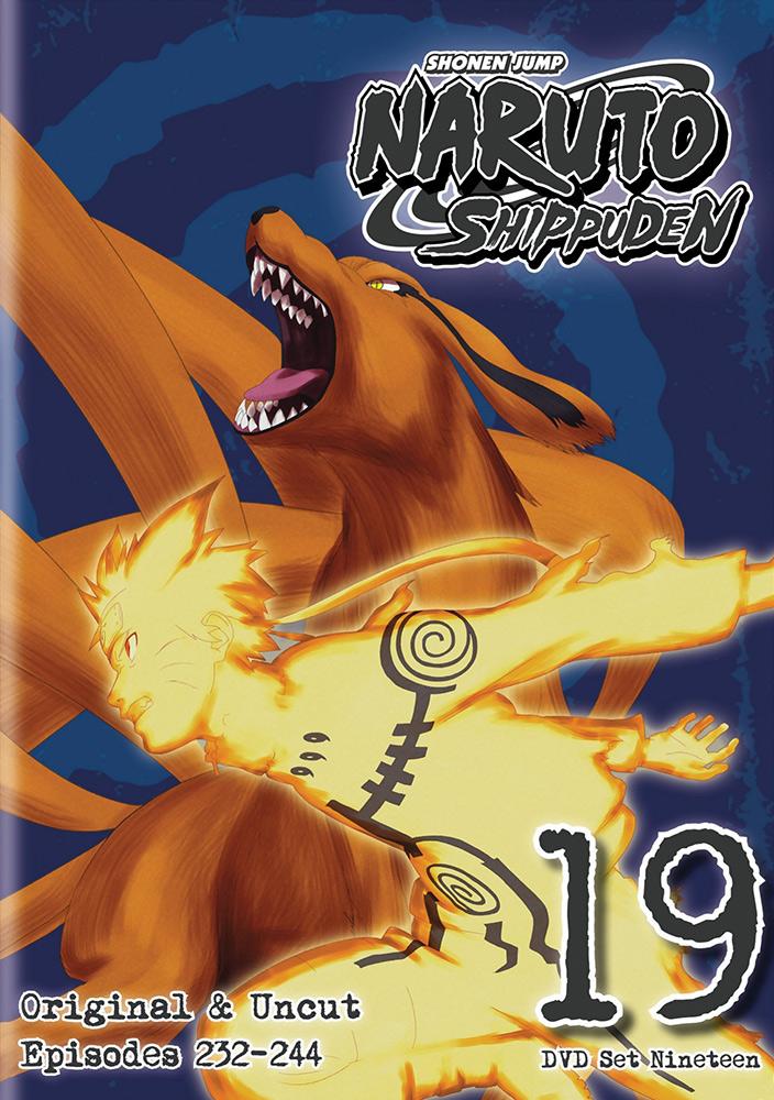 Naruto Shippuden Set 19 DVD Uncut