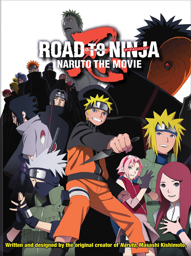 Naruto Shippuden Movie 6 Road to Ninja DVD