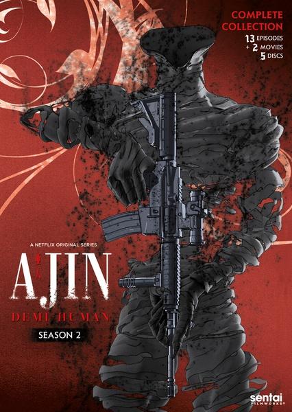 Ajin Demi-Human Season 2 DVD