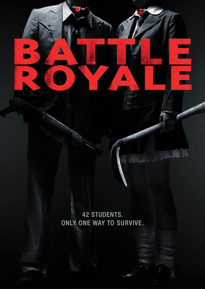 Battle Royale Directors Cut DVD