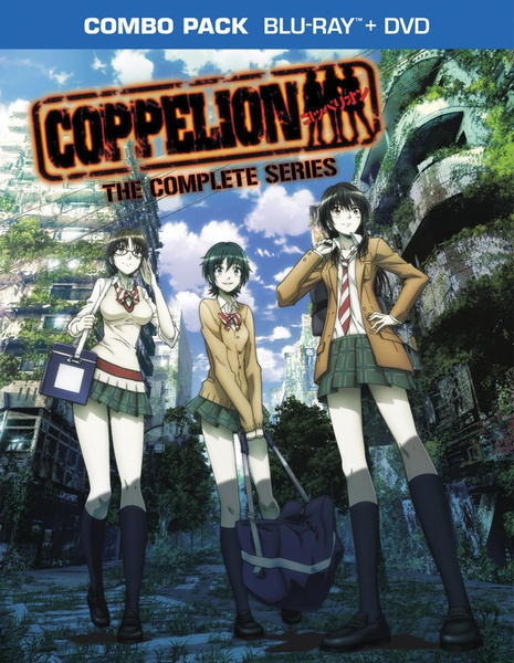 Coppelion Complete Series Blu-ray/DVD