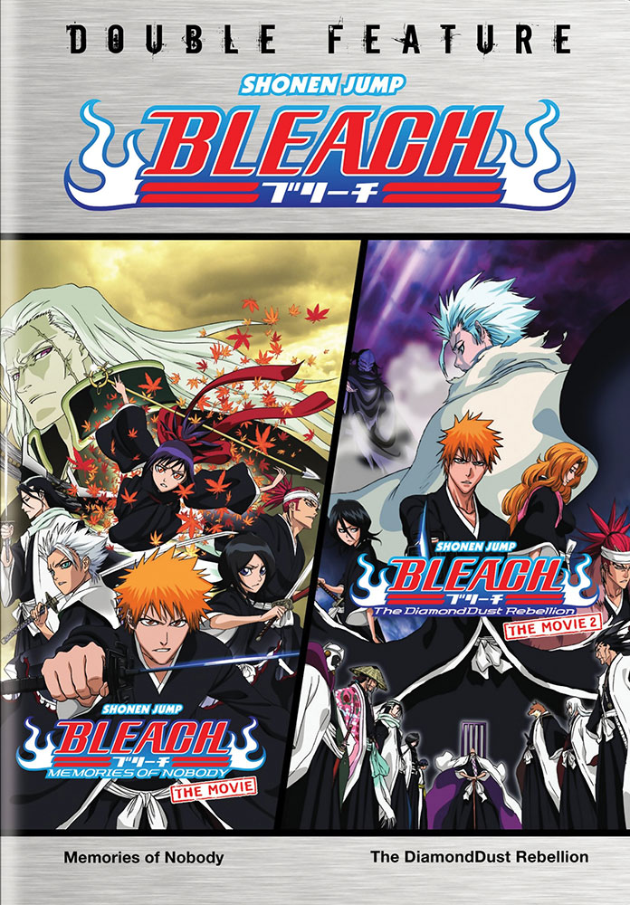 Bleach Movies 1&2 Double Feature DVD