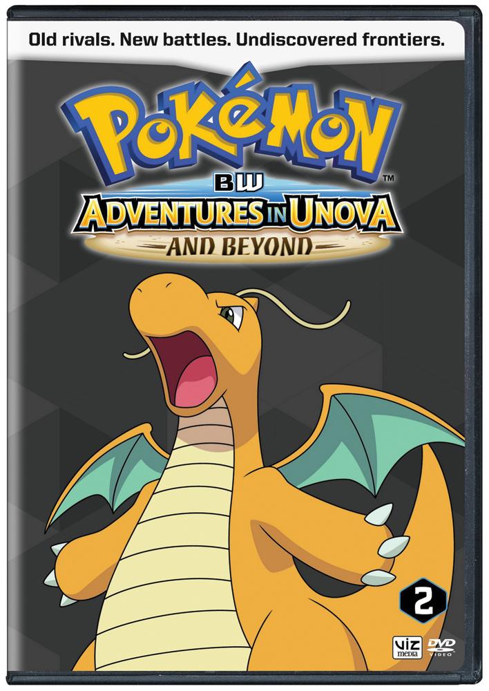 Pokemon Black and White Adventures in Unova Set 2 DVD