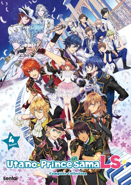 Uta No Prince-Sama Legend Star Season 4 DVD