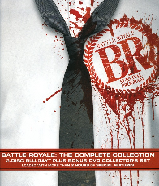 Battle Royale Complete Collection Blu-ray LiveAction