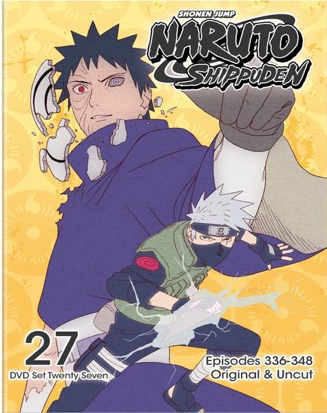 Naruto Shippuden DVD Set 27 Uncut