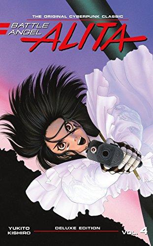 Battle Angel Alita Deluxe Edition Manga Volume 4 (Hardcover)