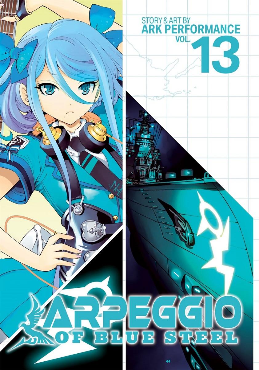 Arpeggio of Blue Steel Manga Volume 13