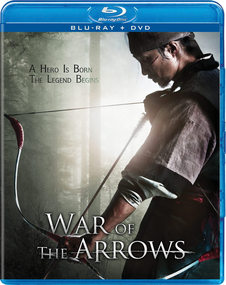 War of the Arrows Blu-ray/DVD
