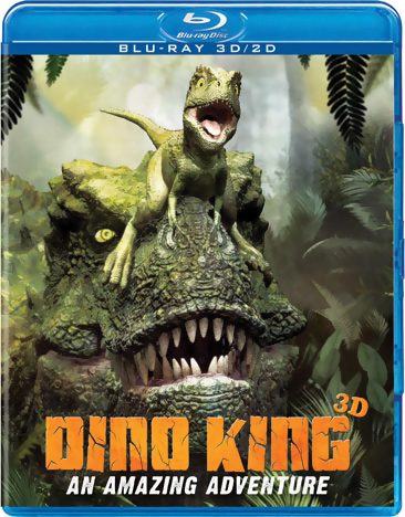 Dino King 3D Blu-ray