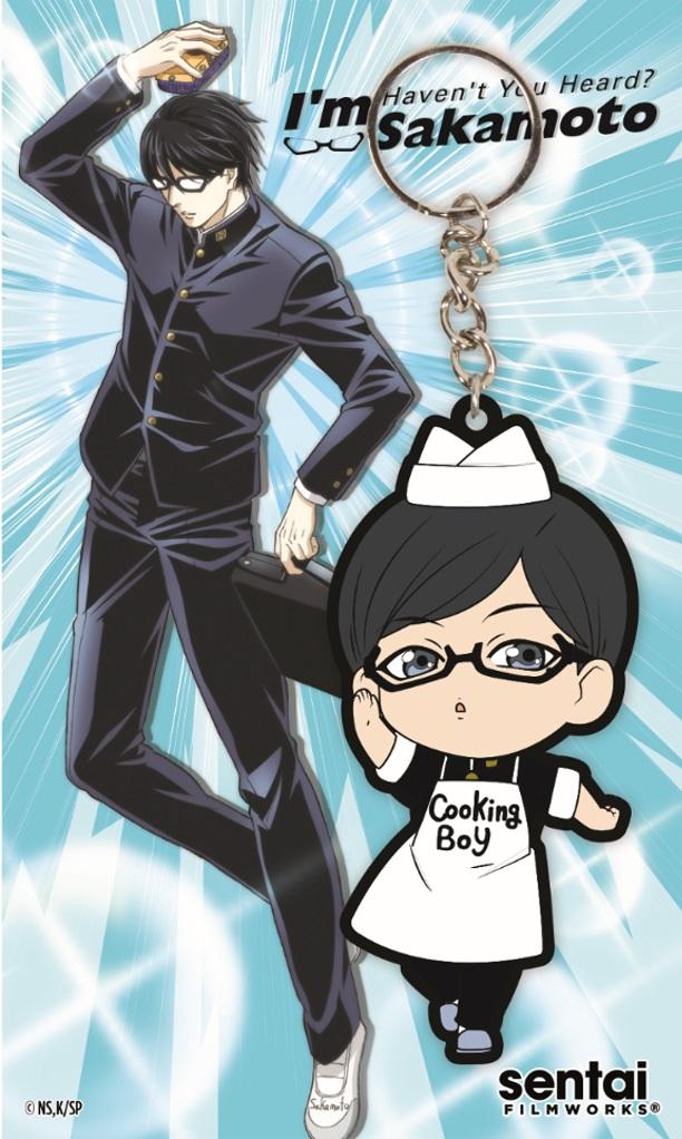 Havent You Heard? Im Sakamoto Cooking Boy PVC Keychain