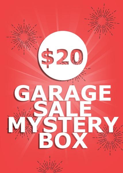 $20 Garage Sale Mystery Box