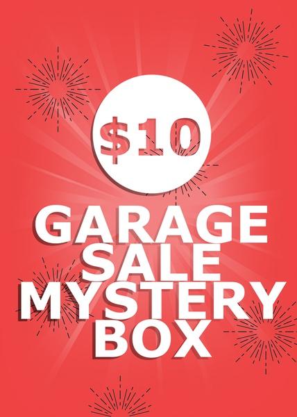 $10 Garage Sale Mystery Box