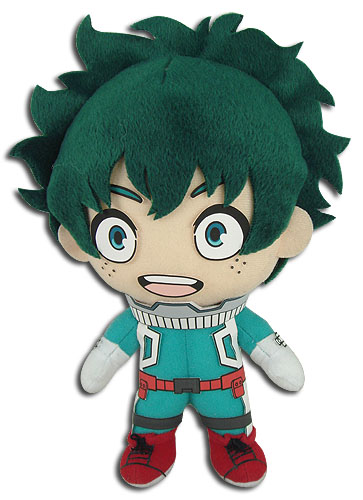 Midoriya Hero Costume My Hero Academia Plush
