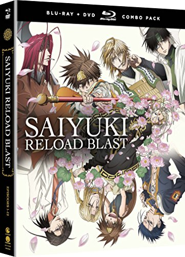 Saiyuki Reload Blast Blu-Ray/DVD