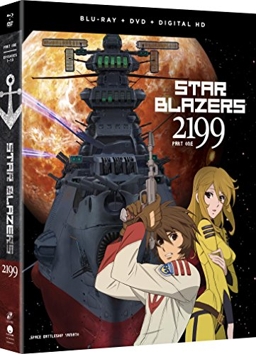 Star Blazers Space Battleship Yamato 2199 Part 1 Blu-ray/DVD