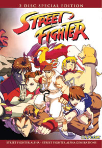 Street Fighter Alpha Collection DVD