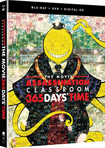 Assassination Classroom the Movie 365 Days Time Blu-ray/DVD