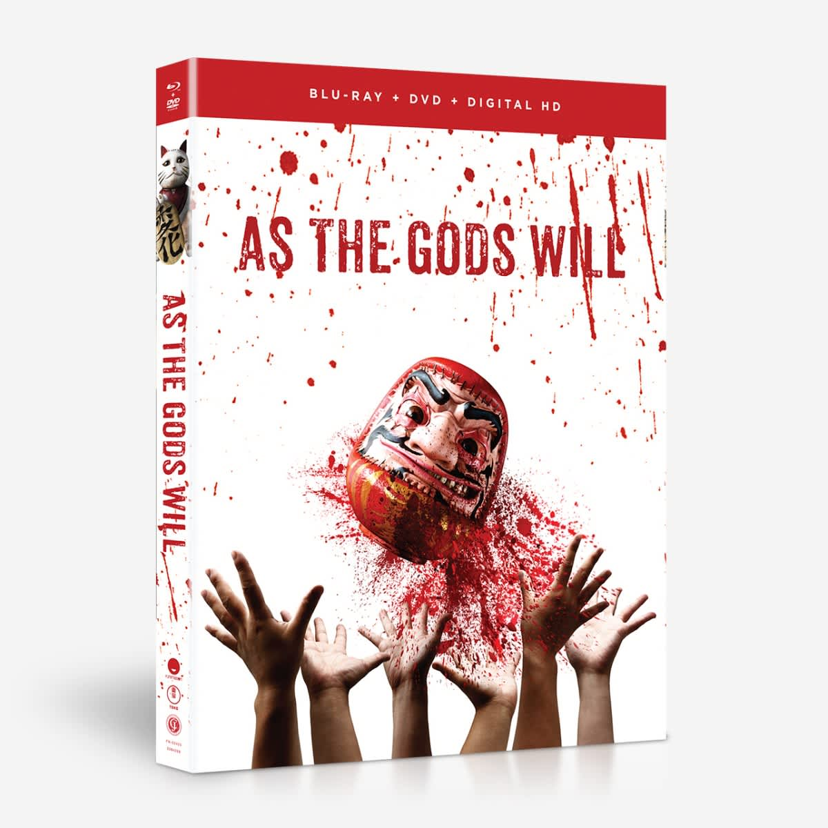 As the Gods Will Blu-ray/DVD