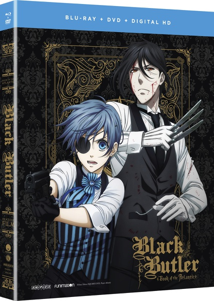 Black Butler Book of the Atlantic Movie Blu-ray/DVD