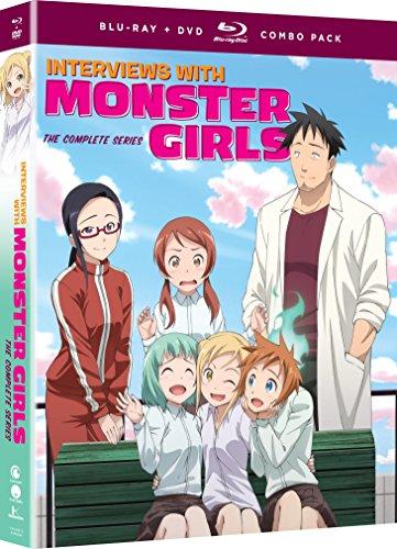 Interviews with Monster Girls Blu-ray/DVD
