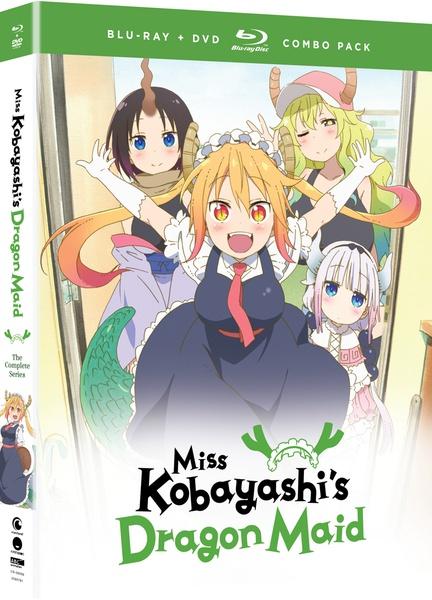Miss Kobayashis Dragon Maid Blu-ray/DVD