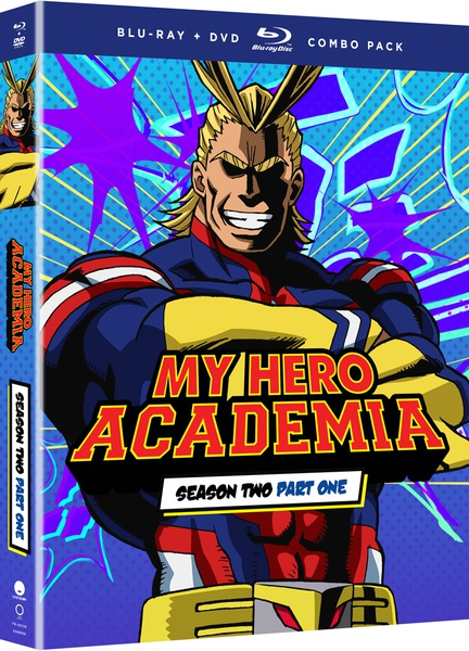 My Hero Academia Season 2 Part 1 Blu-ray/DVD