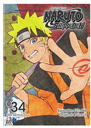 Naruto Shippuden Set 34 DVD Uncut