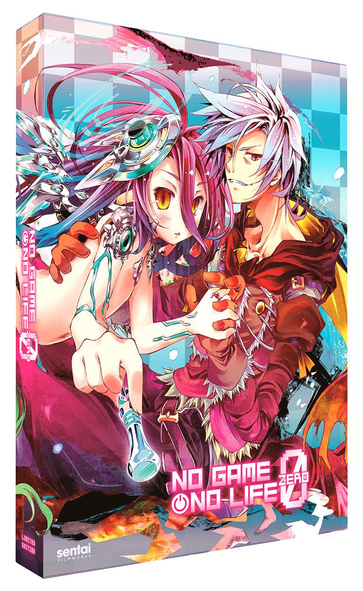 No Game No Life Zero Premium Edition Box Set Blu-ray/DVD