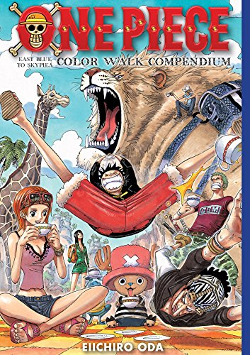 One Piece Color Walk Compendium East Blue to Skypiea Artbook
