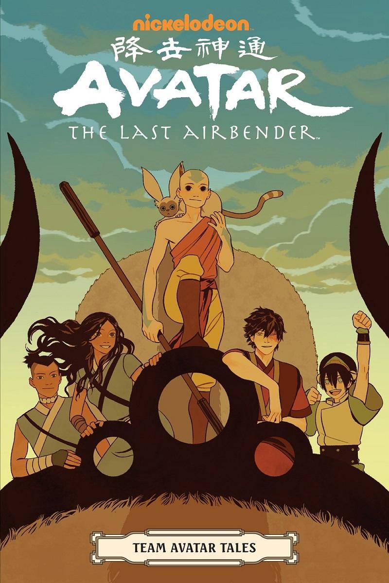 Avatar the Last Airbender Team Avatar Tales Manga