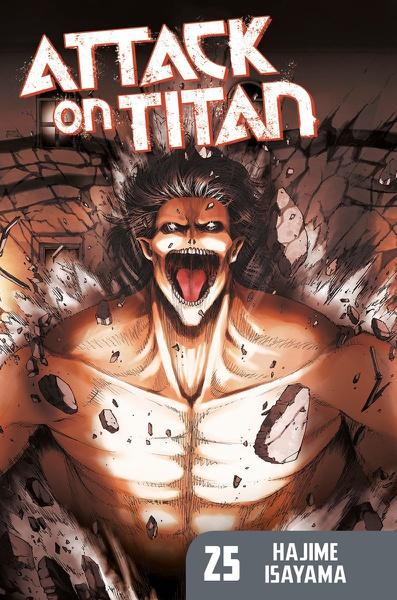 Attack on Titan Manga Volume 25