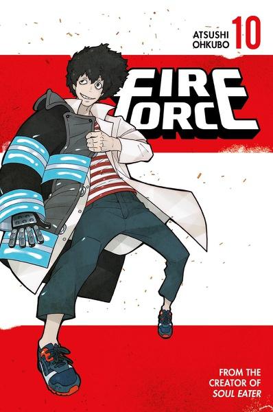 Fire Force Manga Volume 10