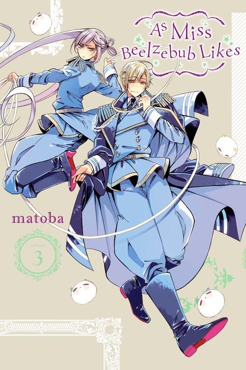 As Miss Beelzebub Likes Manga Volume 3