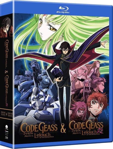Code Geass Complete Series Blu-ray