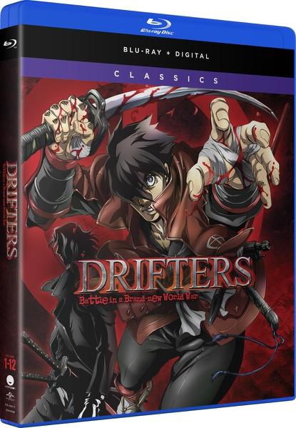 Drifters Complete Series Classics Blu-ray