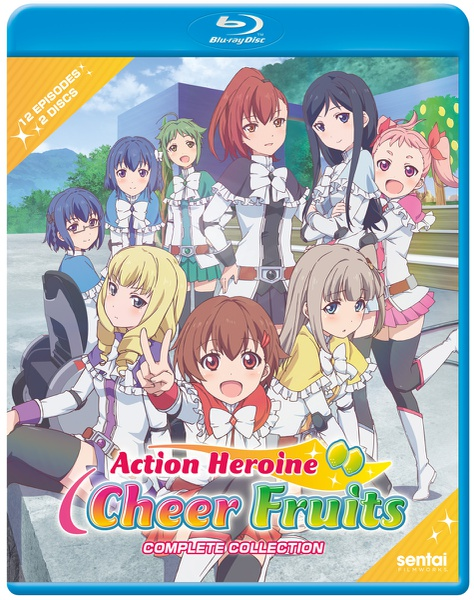 Action Heroine Cheer Fruits Blu-ray