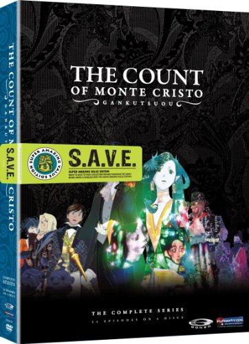 The Count of Monte Cristo: Gankutsuou Complete Series DVD