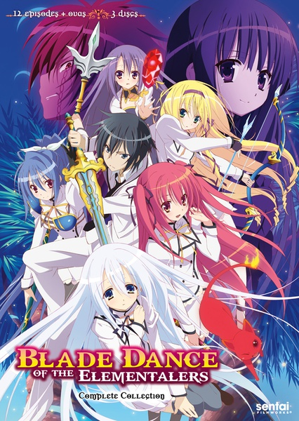 Blade Dance of the Elementalers DVD