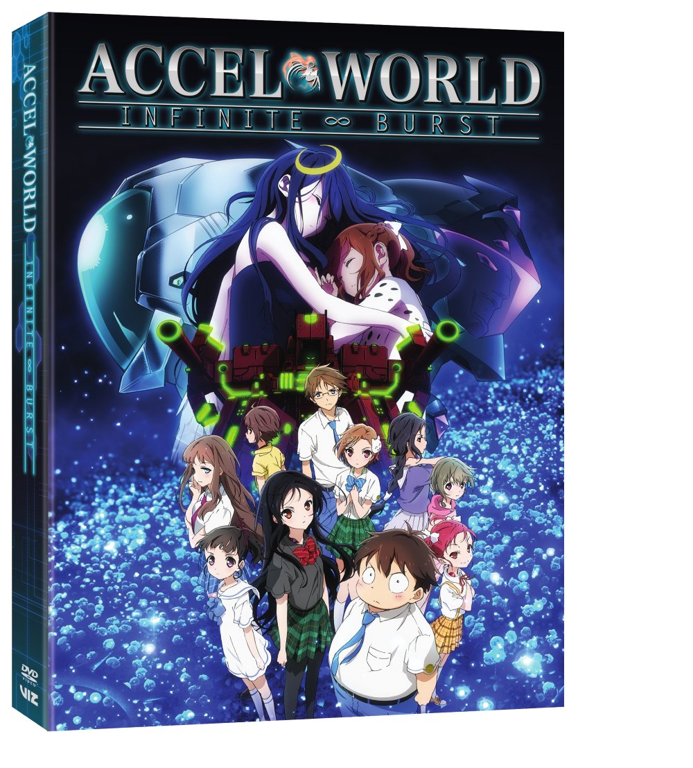 Accel World Infinite Burst DVD