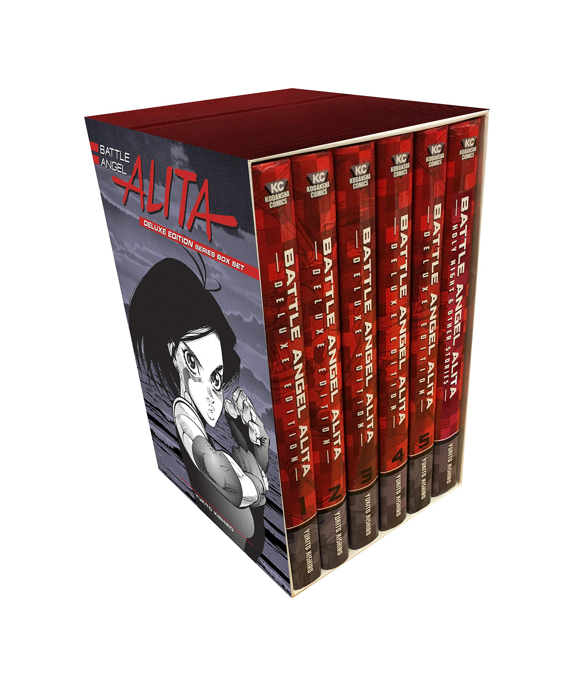 Battle Angel Alita Deluxe Edition Complete Series Manga Box Set (Hardcover)