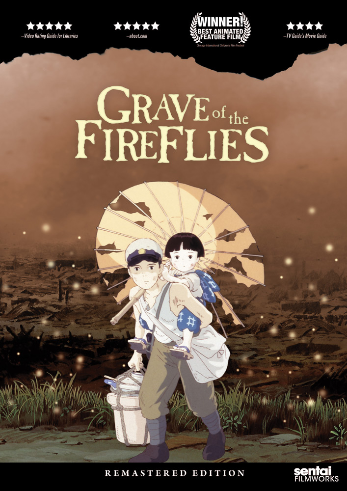 Grave of the Fireflies Remastered Edition DVD