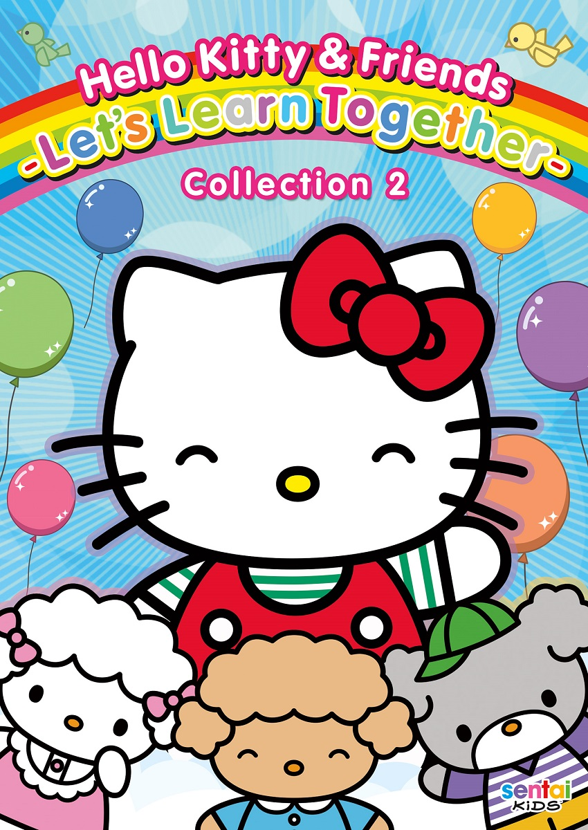 Hello Kitty & Friends Lets Learn Together Collection 2 DVD