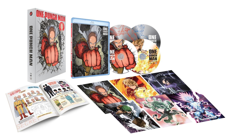 One-Punch Man Season 1 Limited Edition Blu-ray/DVD