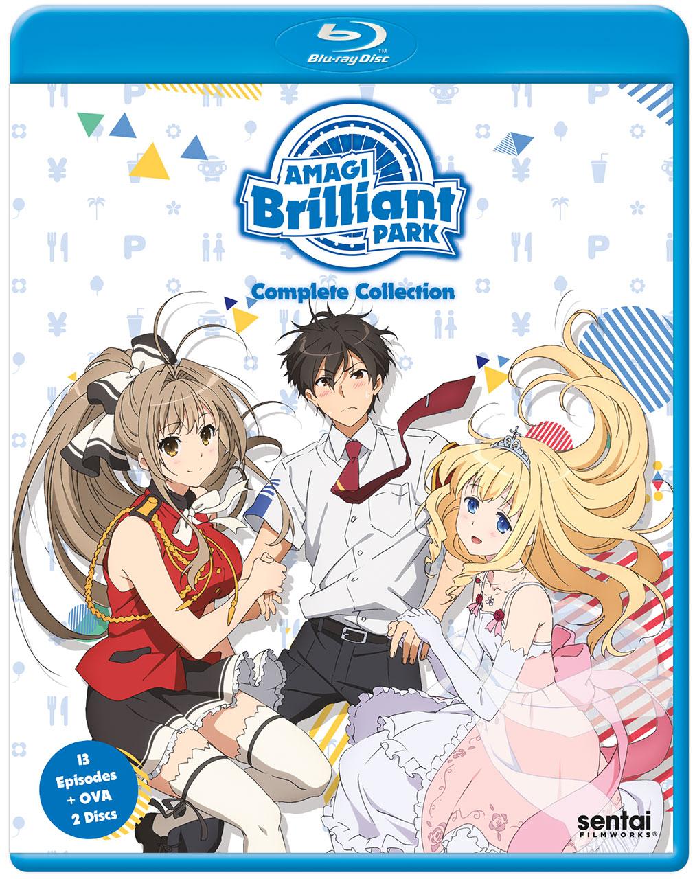 Amagi Brilliant Park Blu-ray