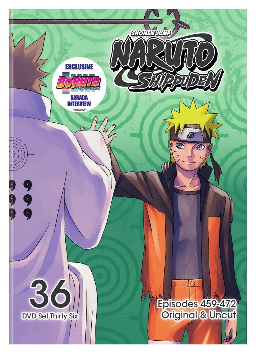Naruto Shippuden Set 36 DVD Uncut