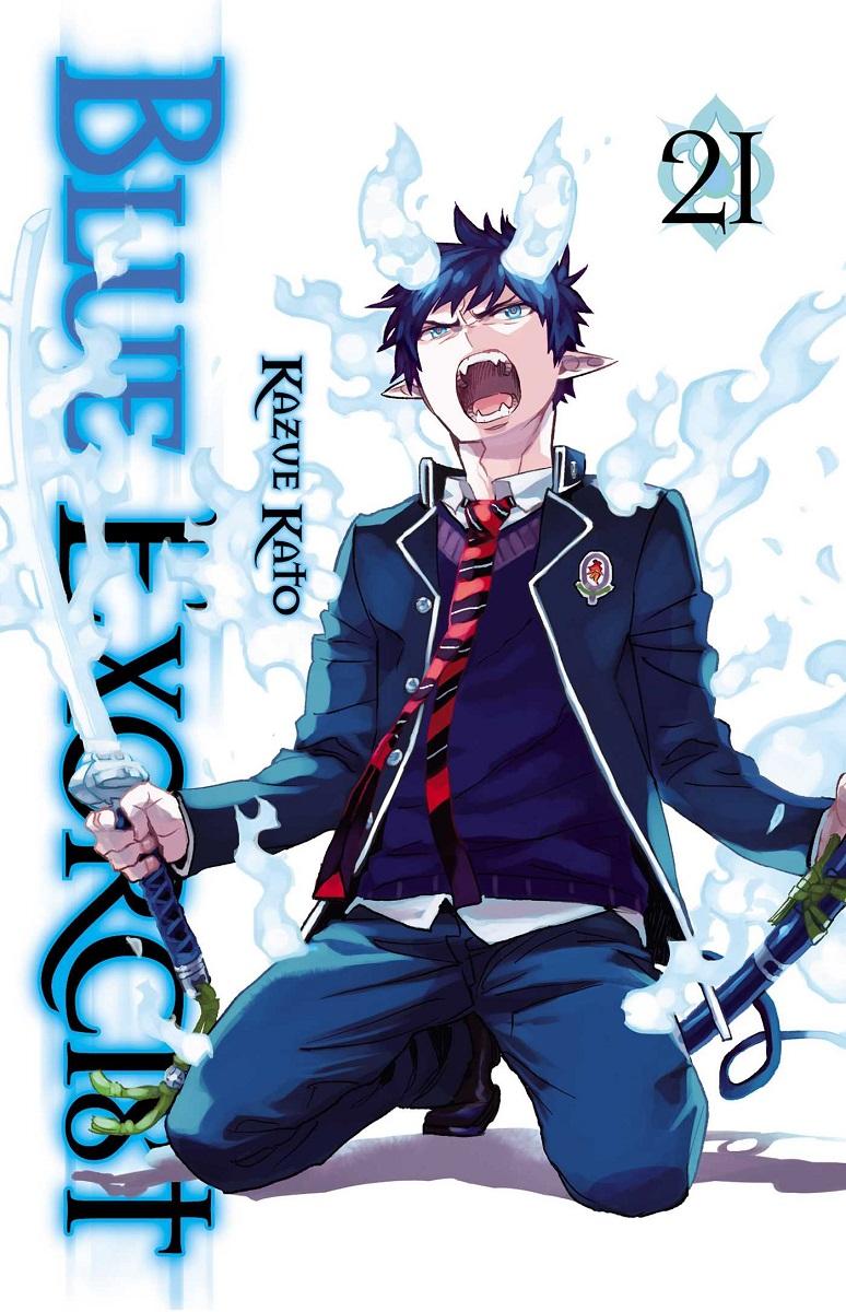 Blue Exorcist Manga Volume 21
