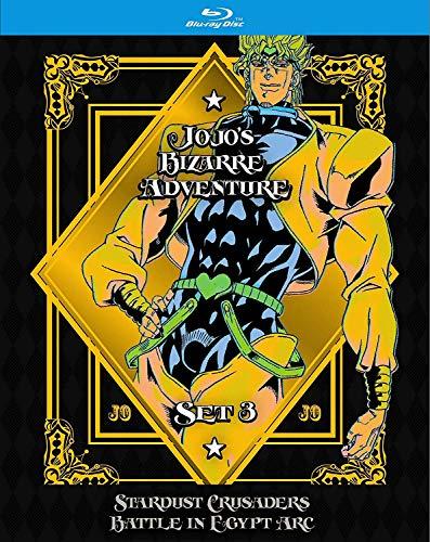 Jojos Bizarre Adventure Set 3 Limited Edition Blu-ray + GWP