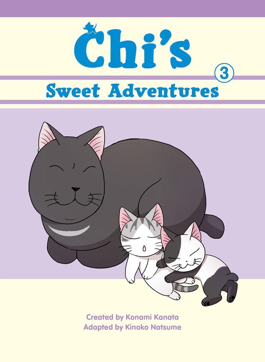 Chis Sweet Adventures Manga Volume 3 (Color)